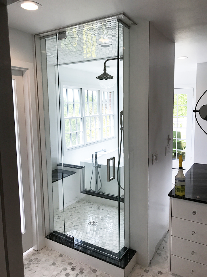 Glass Shower Door Installation: Novi, MI | Glass Works - IMG_0375_copy