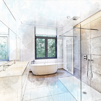 Euro Shower Door Installation: Novi, MI | Glass Works - design