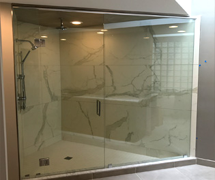 Euro Shower Door Installation: Novi, MI | Glass Works - euro