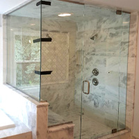 Euro Shower Door Installation: Novi, MI | Glass Works - install